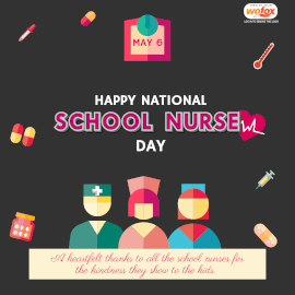 Online Editable National School Nurse Day Instagram Post