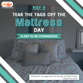 Online Editable Tear the Tags Off the Mattress Day May 9 Instagram Post