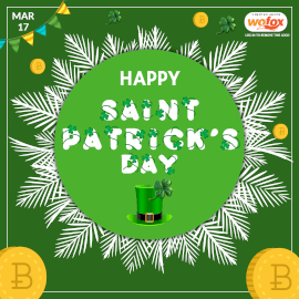 Online Editable St. Patrick's Day March 17 Instagram Post