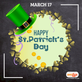 Online Editable Class Board BG Saint Patrick's Day March 17 Instagram Post
