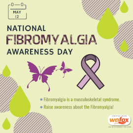 Online Editable National Fibromyalgia Awareness Day May 12 Instagram Post