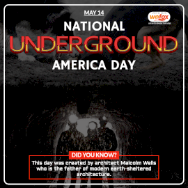 Online Editable National Underground America Day May 14 Instagram Post
