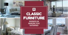 Online Editable Classic Furniture 4 Grid Photo Collage