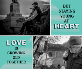 Online Editable Relationship Quotes 2 Grid Photo Collage