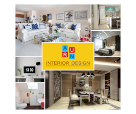 Online Editable Home Interior Design 5 Grid Photo Collage