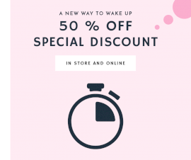 Online Editable Special Discount Sale Facebook Post