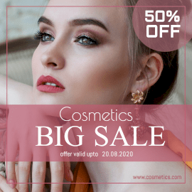 Cosmetics Big Sale