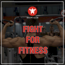 Online Editable Shape Club for Bodybuilding GIF Post