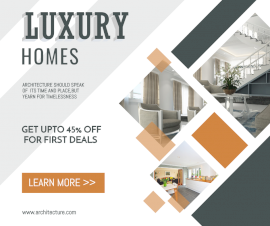 Luxury Homes - Facebook Post