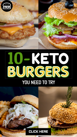Online Editable Ten Types of Keto Burgers Story Design