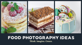 Online Editable Food Photography Promotion Facebook App Ad