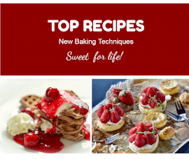 Online Editable Top Dessert Recipes Two Grid Photo Collage