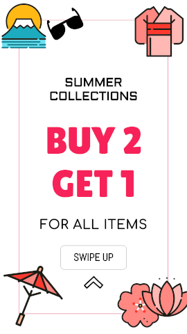 Online Editable Summer Cool Collection Offer Sales & Promotion Story