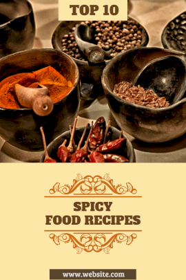 Spicy Food - Blog Graphics
