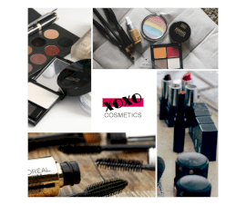 Online Editable Makeup Kit for Women 4 Photo Collage