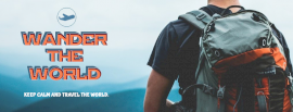 Wander The World - Facebook Cover