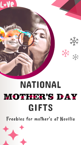 Online Editable Mother's Day Gifts Story Design