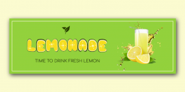 Online Editable Lemonade Twitter Post