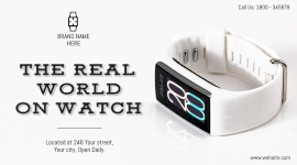 Online Editable Smartwatch From Watch Store Facebook App Ad
