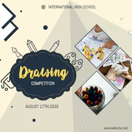 Drawing Competition - Instagram Post