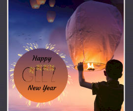 Online Editable New Year Wish Facebook Post