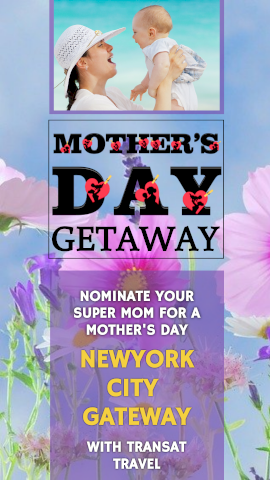 Online Editable Mother and Child Mother's Day Contest Story Design