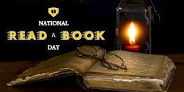 National Read A Book Day Twitter Post