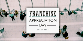 Online Editable Franchise Appreciation Day Twitter Post