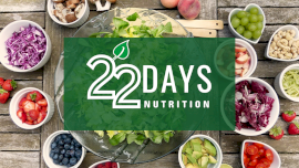 22 Days Nutrition - YouTube Thumbnail