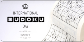 Online Editable International Sudoku Day Twitter Post