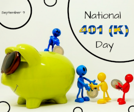 Online Editable National 401(k) Day September 9 Facebook Post