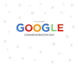 Online Editable Google Commemoration Day September 7 Facebook Post