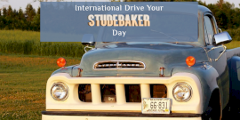 Online Editable International Drive Your Studebaker Day Twitter Post