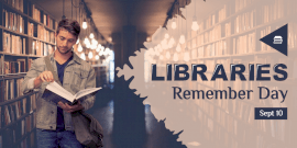 Online Editable Libraries Remember Day Twitter Post