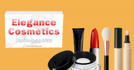 Online Editable Elegance Cosmetics Photo Mockup