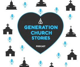 Online Editable Church Stories Podcast Artwork Facebook Post