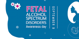 Online Editable Fetal Alcohol Spectrum Disorders Awareness day Twitter Post