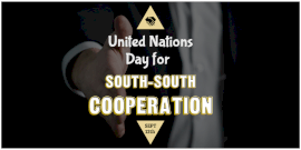 Online Editable United Nations Day for South-South Cooperation Twitter Post