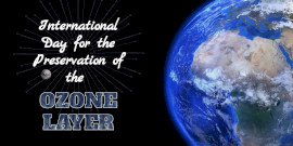 Online Editable International Day for the Preservation of the Ozone Layer Twitter Post