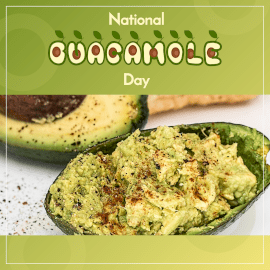 National Guacamole Day - Instagram Post
