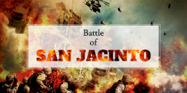 Online Editable Battle of San Jacinto Twitter Post