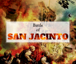 Online Editable Battle of San Jacinto Day Facebook Post