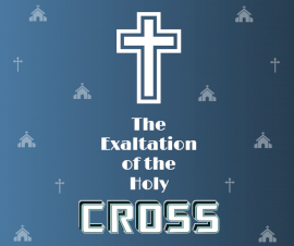 Online Editable Holy Cross Podcast Artwork Facebook Post