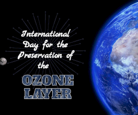 Online Editable International Day for the Preservation of the Ozone Layer September 16 Facebook Post