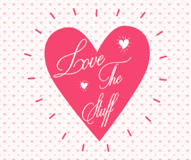 Online Editable Love The Stuff Podcast Artwork Facebook Post