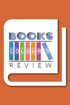 Books Color Review - Pinterest Graphic