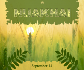 Online Editable Nuakhai September 14 Facebook Post