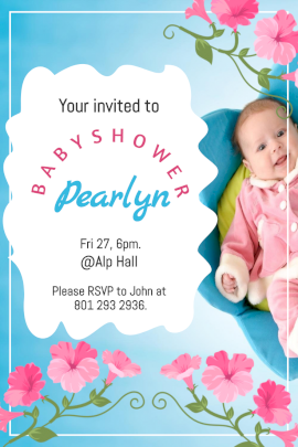 Baby Shower - Pinterest Graphic