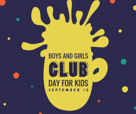 Online Editable Boys' and Girls' Club for Kids September 15 Facebook Post