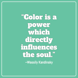 Online Editable Wassily Kandinsky Design Quotes Square GIF Post